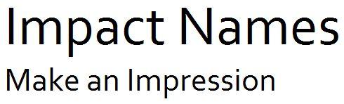 Impact Names
